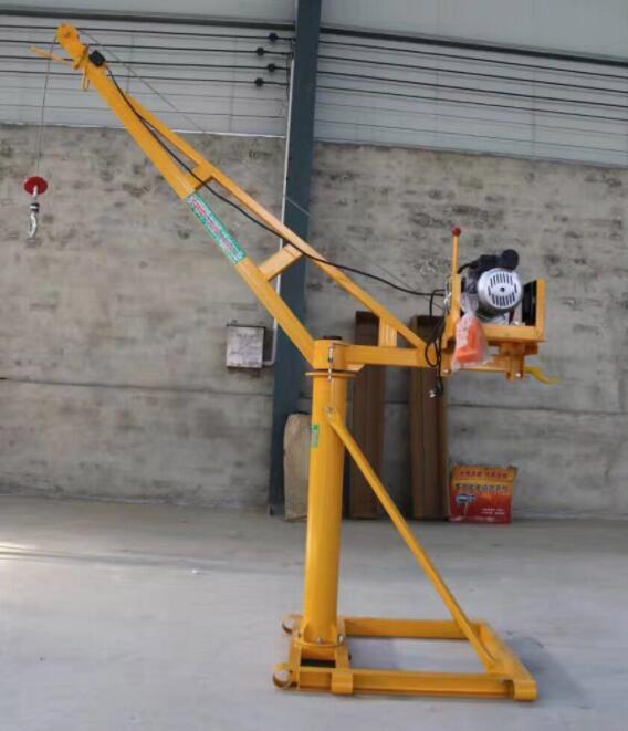 小型吊运机的吊钩检查事项分析